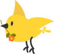 Mary Katherine Matthews DDS - Pediatric Dentistry - Hockessin Pedodontist - bird with flower